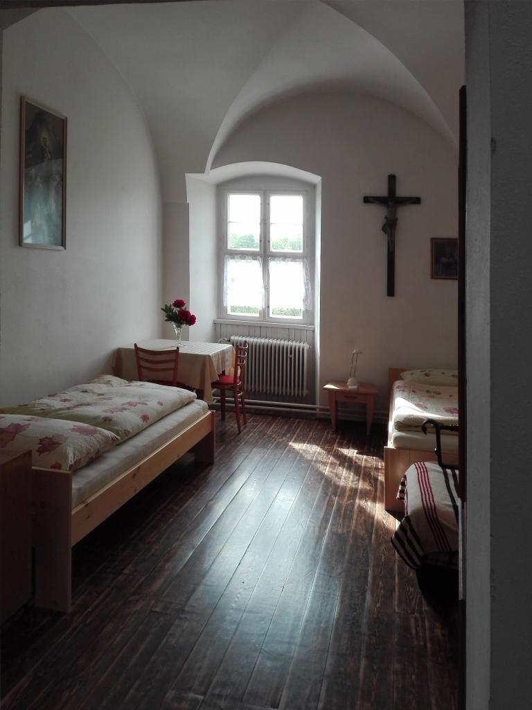 Béžový pokoj - klášter Jablonné v Podještědí