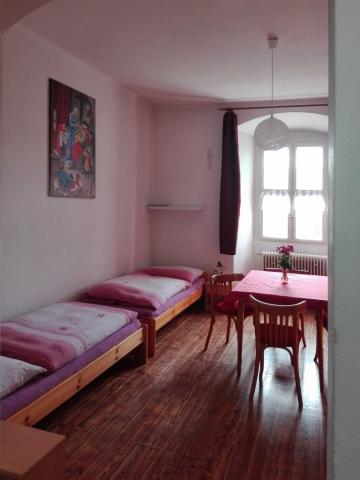 Červený pokoj - klášter Jablonné v Podještědí