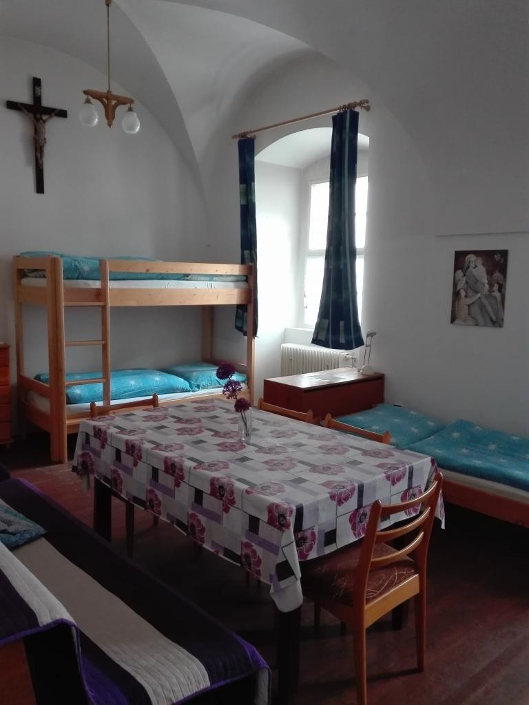 Fialový pokoj - klášter Jablonné v Podještědí
