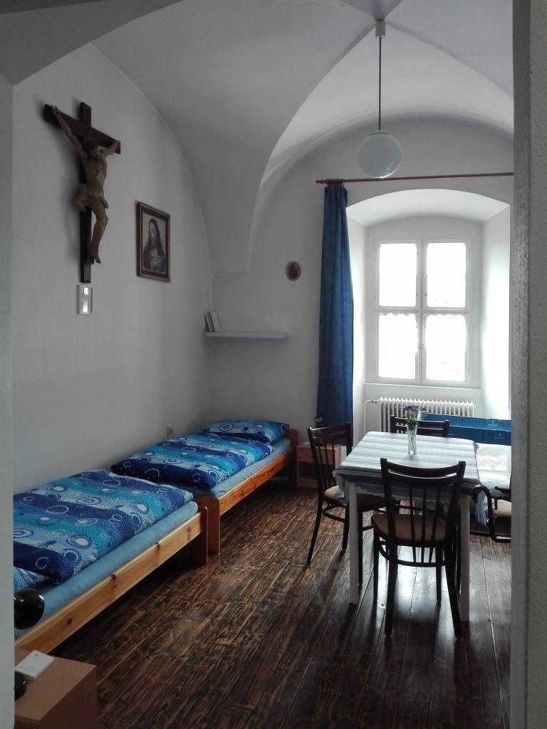 Modrý pokoj - klášter Jablonné v Podještědí