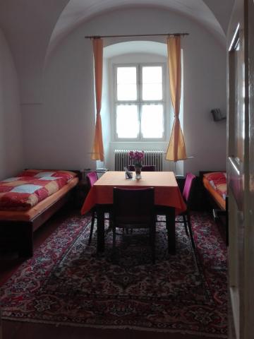 Oranžový pokoj - klášter Jablonné v Podještědí